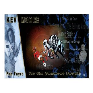 """Postcard """"Derby Fan Fayre"""""""