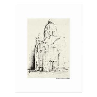Postcard design pencil Hanover landscape