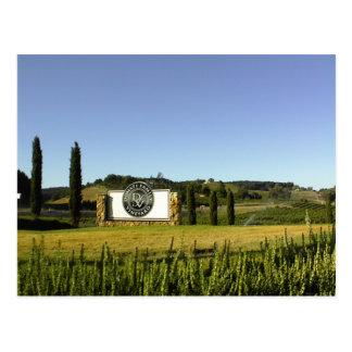 Postcard: Donati Family Vineyard Grounds Postcard