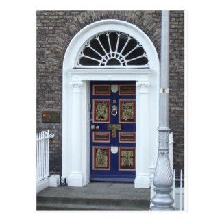 Postcard: Doors of Dublin Postcard