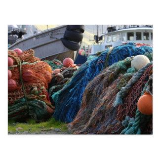 Postcard / Dutch Harbor, Unalaska Net Pile
