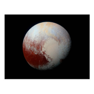 Postcard Dwarf Planet Pluto by NASA New Horizons