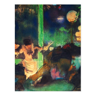 Postcard: Edgar Degas - Cafe des Ambassadeurs Postcard