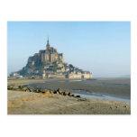 Postcard el Monte Saint-Michel (Normandy), Francia Postal