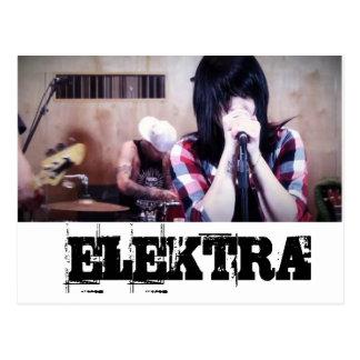 Postcard Elektra Mosley
