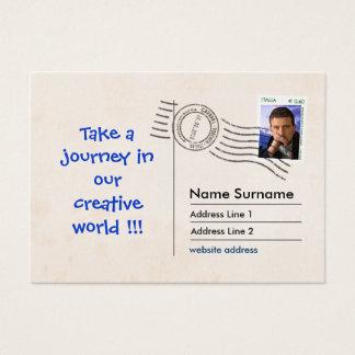 PostCard Fac-Simile Business Card
