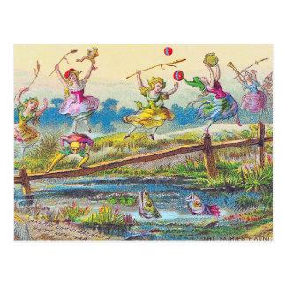 Postcard Fairies Faeries Haunt