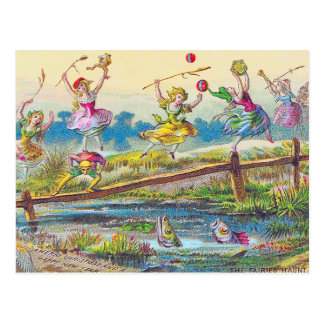 Postcard:  Fairies [Faeries] Haunt Postcard