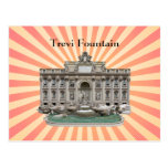 Postcard: Fontana di Trevi: Trevi Fountain