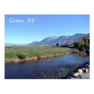 Postcard for Genoa, Nevada
