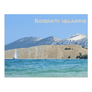 postcard for Kornati, Croatia