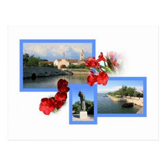 postcard for Nin, Zadar, Croatia