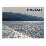 postcard for Peljesac, Croatia