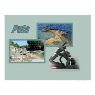 postcard for Pula, Croatia