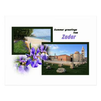 postcard for Zadar, Croatia