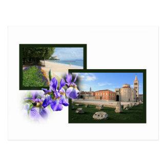 postcard for Zadar, Croatia