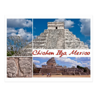 Postcard from Chichen Itza, Mexico