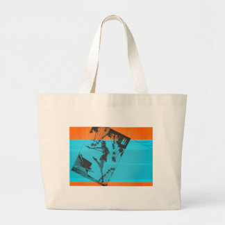 Postcard from LA Large Tote Bag