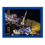 postcard, las, vegas, travel, night, lights,