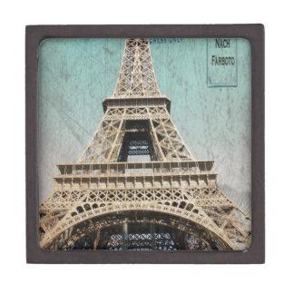 Postcard From Paris EIffel Tower Premium Gift Box