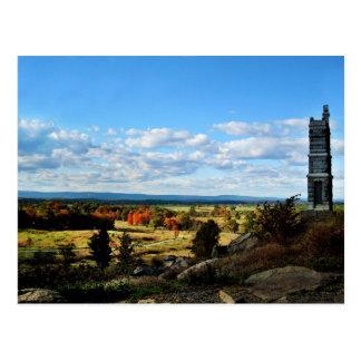 Postcard - Gettysburg Little Round Top