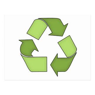 Postcard-Go Green-Recycle Postcard