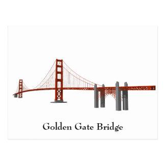 Postcard Golden Gate Bridge