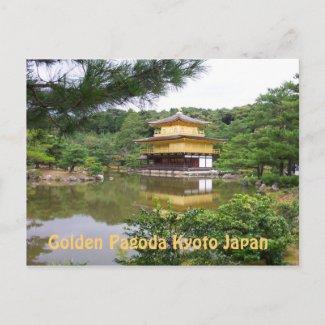 POSTCARD - Golden Pagoda zazzle_postcard