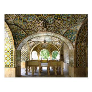 Postcard Golestan Palace, Tehran, Iran
