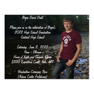 Postcard Graduation Announcement