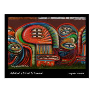 Postcard: Graffiti Eyes Postcard