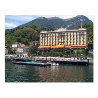 Postcard Grand Hotel in Tremezzo, Como, Italy