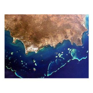 Postcard Great Barrier Reef, Australia