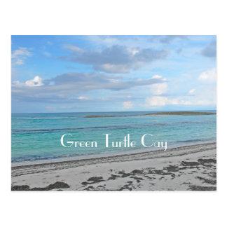 "postcard ""GREEN TURTLE CAY / BAHAMAS/SEA,SKY&SAND"""