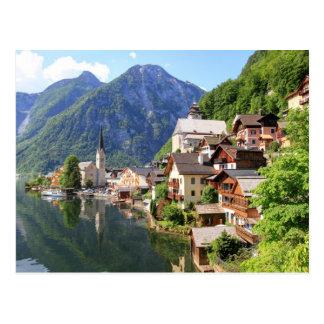 Postcard Hallstatt, Austria