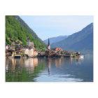 Postcard - Hallstatt town and lake, Austria