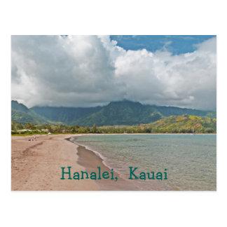 "postcard, ""HANALEI BEACH, KAUAI"" Postcard"