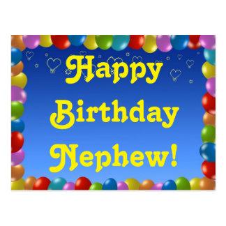 Postcard Happy Birthday Nephew
