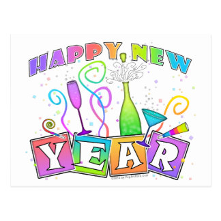 Postcard - HAPPY NEW YEAR