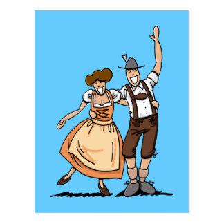 Postcard Happy Oktoberfest Couple