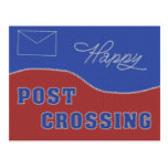 "Postcard ""Happy Postcrossing! Stitches"""