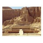 Postcard Hatshepsut Temple, Deir El Bahri, Egypt Postal