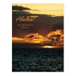 Postcard: Hawaii Sunset (Portrait)