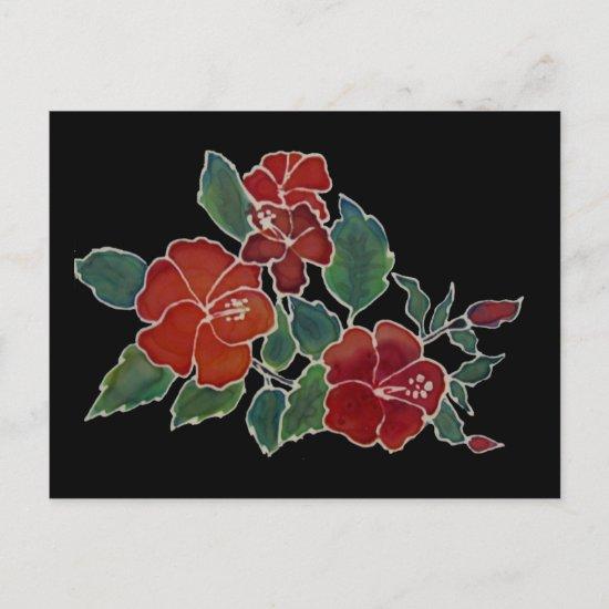Postcard - Hibiscus Blossom