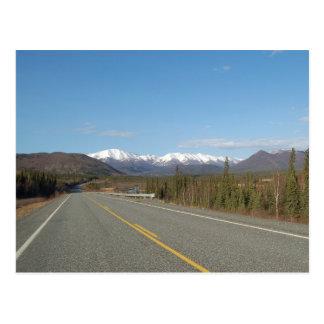 Postcard Higway in Alaska