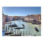 Postcard Hotel Sagrado, Venice Italy Postales