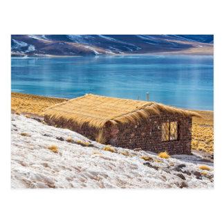 Postcard, House in the Lake, Atacama Desert, Chile Postcard