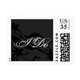 Postcard I Do Wedding Postage Stamp