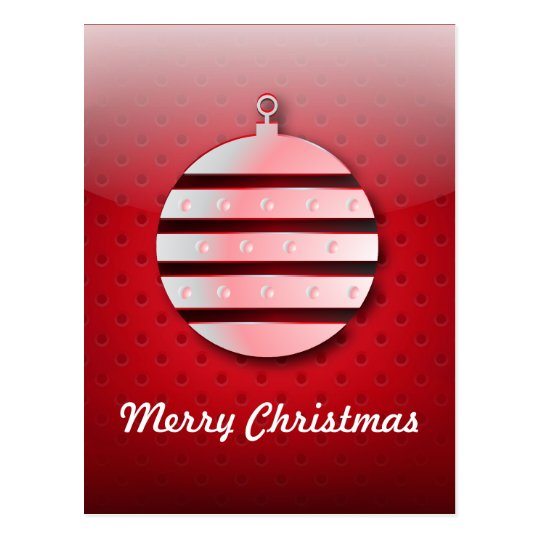 Postcard  icon Christmas ball