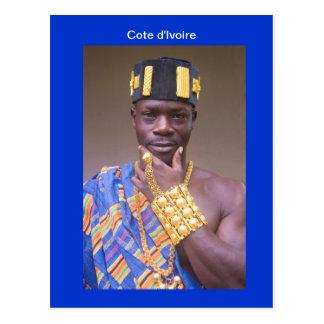 Postcard, Ivoirian, L'Abissa Postcard